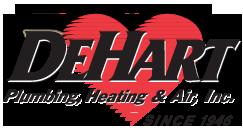 DeHart Plumbing Heating & Air Inc logo